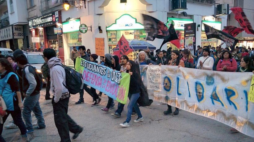 Marcha en Jujuy
