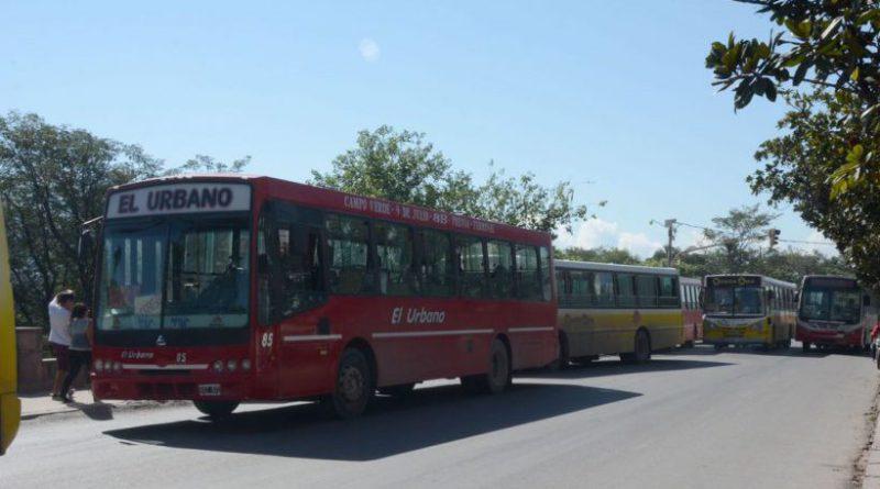 Continúa el paro de choferes de colectivos en Jujuy