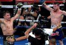 Canelo Álvarez y Gennady Golovkin empataron en un duelo vibrante
