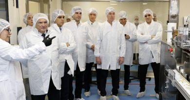 Pfizer inauguró su primer planta de cápsulas blandas en nuestro país