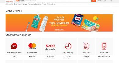 """La tienda electrónica Linio presentó su espacio """"market"""""""