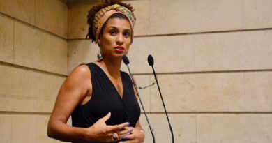 Confirmaron que las balas que mataron a Marielle Franco pertenecían a la Policía Federal brasileña