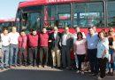 Nuevas unidades se suman al servicio de transporte público