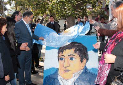 La Ciudad recordó a Manuel Belgrano, en el Día de la Bandera