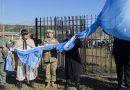 Nuevas banderas flamean en el Acceso Sur capitalino