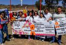 Campaña de prevención del suicidio en la Pintada Estudiantil