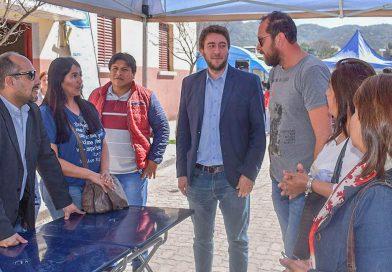 """Concejales visitaron el """"Estado en tu Barrio"""""""