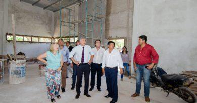 Se construyen nuevos edificios en Puesto Viejo