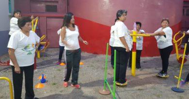 """El Hospital """"San Roque"""" inauguró un gimnasio intra-hospitalario gratuito"""