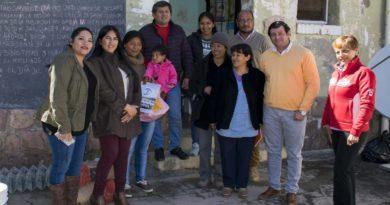Concejales entregaron material didáctico a la Escuela Arismendi de Reyes