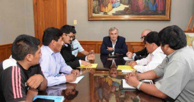 Morales se reunió con intendentes y comisionados de la Quebrada y la Puna