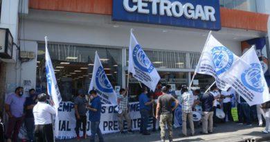 Empleados de comercios en contra del desdoblamiento de horarios en Cetrogar
