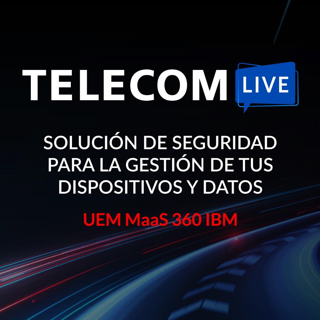 """Telecom se unió a IBM en la solución de """"Gestión Unificada de Dispositivos"""""""