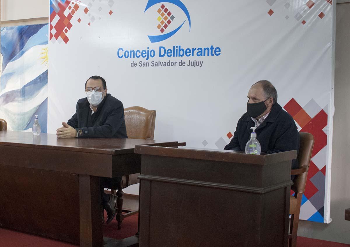 Concejales se reunieron  con empresarios por los Centros Comerciales Abiertos de Jujuy