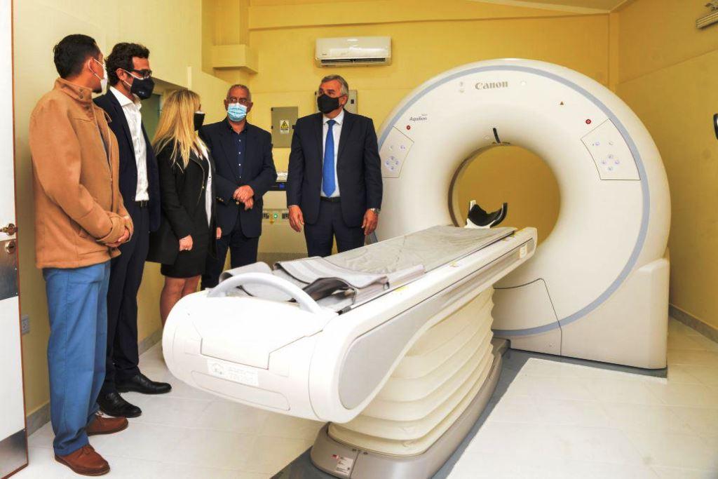 Nuevo tomógrafo en el hospital de Perico