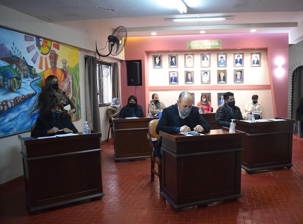 Concejales analizaron la situación del transporte público
