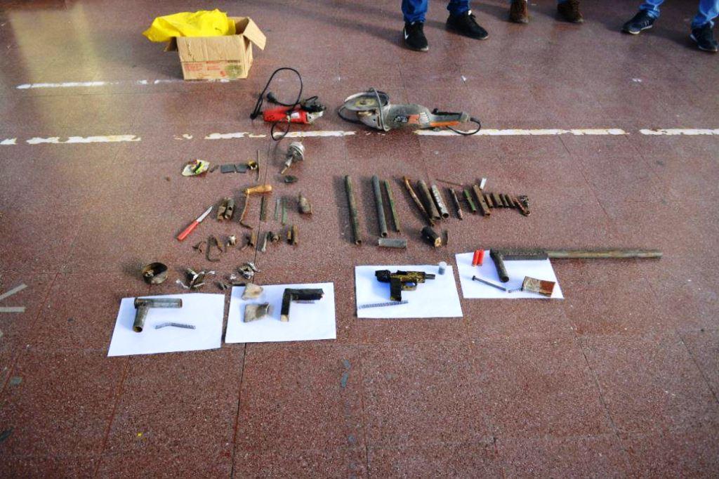 15 detenidos y secuestro de armas tumberas en Libertador Gral. San Martín