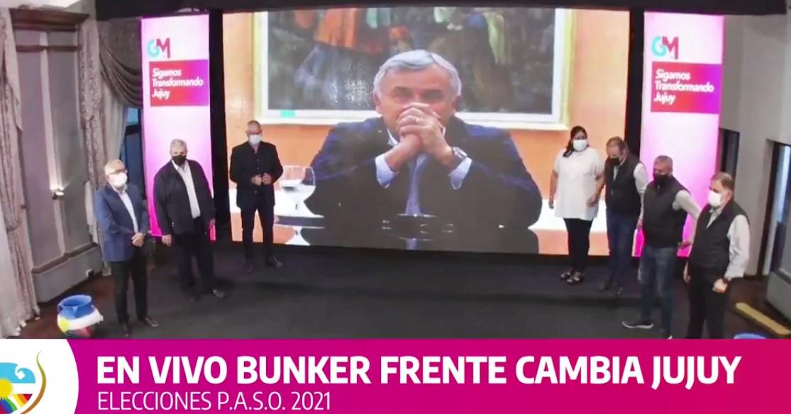 El Frente Cambia Jujuy obtuvo el 46 % de los votos y lideró las PASO