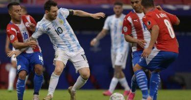 Argentina no pudo con Paraguay y empató sin goles